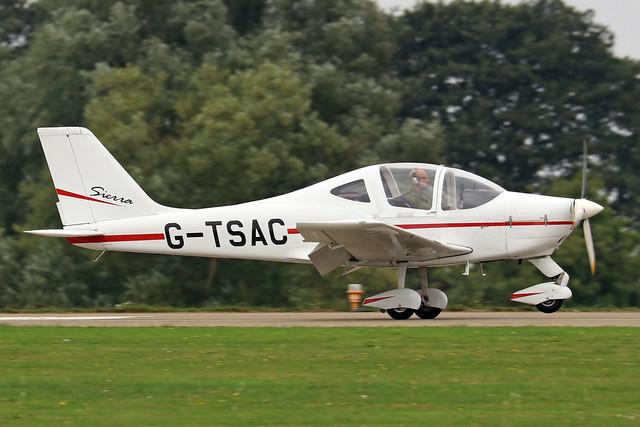 G-TSAC  -  Tecnam P2002 EA Sierra c/n PFA 333-14611  -  EGBK 3/9/21