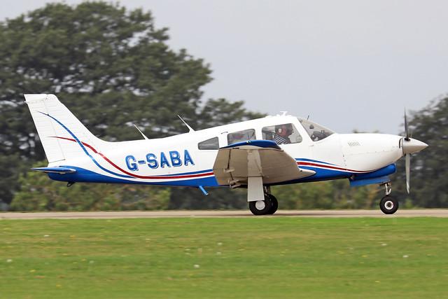 G-SABA  -  PA-28R 201T Turbo Arrow III c/n 28R-7703268  -  EGBK 3/9/21