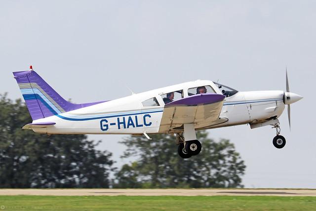 G-HALC -  Piper PA-28-200 Cherokee Arrow II c/n 28R-7335042  -  EGBK 3/9/21