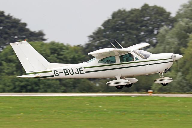 G-BUJE  -  Cessna 177B Cardinal c/n 177-01920  -  EGBK 3/9/21