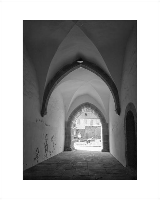 Cloister Arnsburg - pinhole