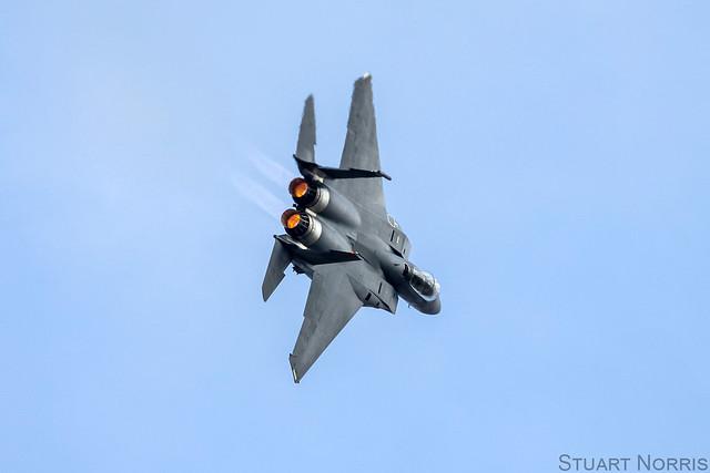 F-15E Strike Eagle Demo - Duxford September 2011