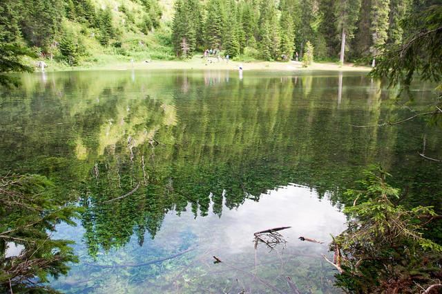 Lago di Mezzo - Vicino al lago di Carezza