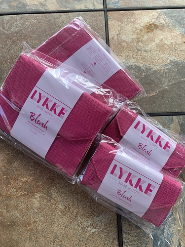"""Lykke 5"""" and 3.5"""" Blush Needle Sets have landed in the shop"""