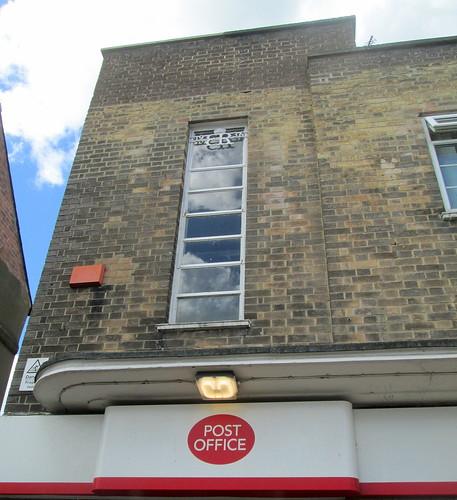 Chester-le-Street, Art Deco Post Office Detail