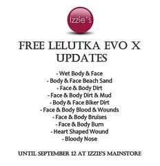 Free LeLutka Evo X Updates