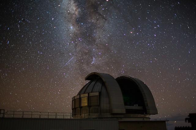 Infravörös tartományban működő teleszkóp, Mouna Kea, Hawaii (forrás NOAA)