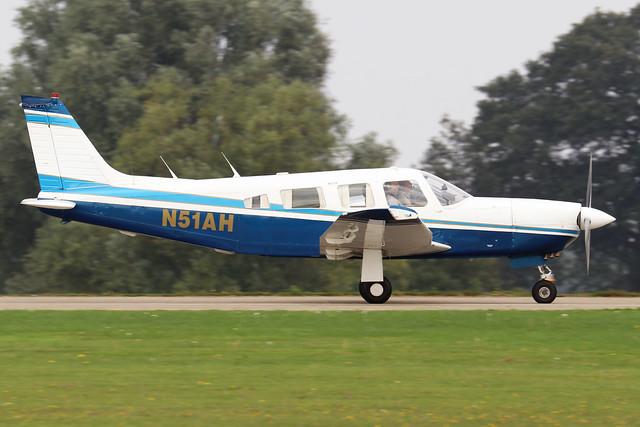N51AH  -  PA-32R 301 Saratoga SP c/n 32R-8413017  -  EGBK 4/9/21