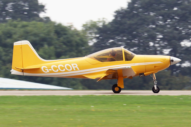 G-CCOR  -  Sequoia F.8L Falco c/n PFA 100-10588  -  EGBK 4/9/21