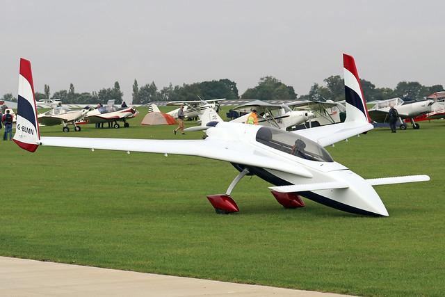 G-BLMN  -  Rutan Long-Ez c/n PFA 074A-10648  -  EGBK 4/9/21