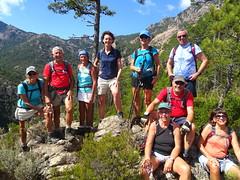 Photo de groupe à Bocca di Ricu