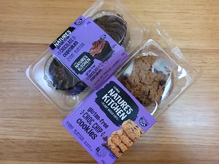 Nature's Kitchen GF Vegan Cupcakes and Chocolate Chip Cookies