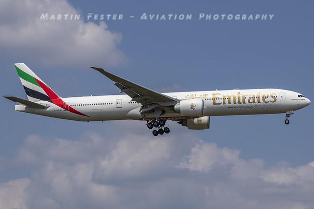 A6-EQJ // Emirates // Boeing 777-31HER