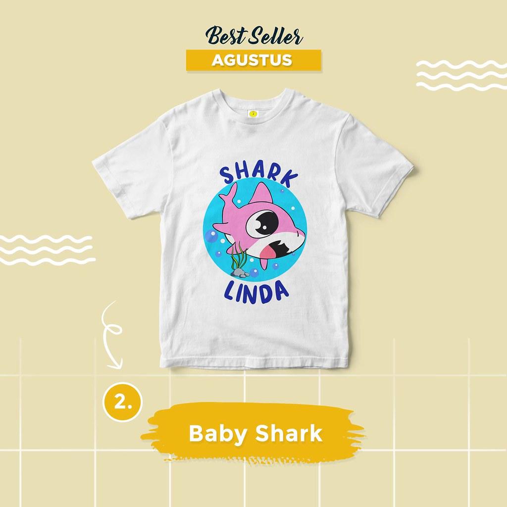 Kaos Baby Shark
