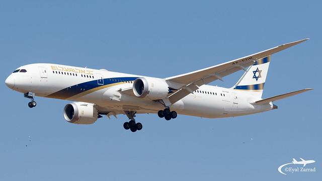 TLV - El Al Boeing 787-9 4X-EDM