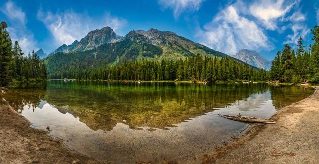 String Lake Panorama