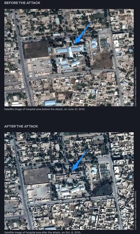 MSF Kunduz hospital airstrike