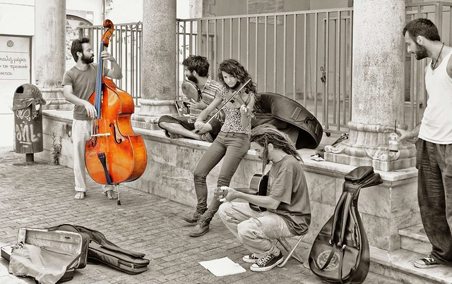 Heraklion ... Music is in the air