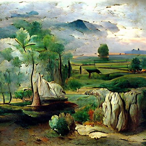 'a landscape' CLIPIT