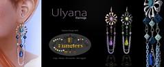 KUNGLERS - Ulyana Earrings