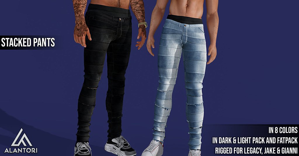 ALANTORI | Stacked Pants