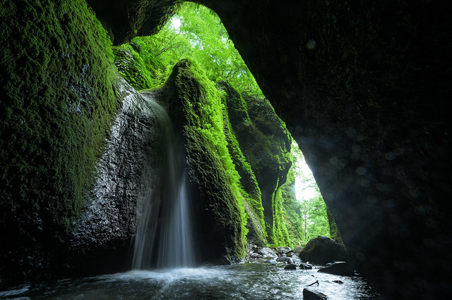 シワガラの滝12・Shiwagara Falls