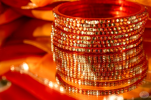 Bangles on a mirror