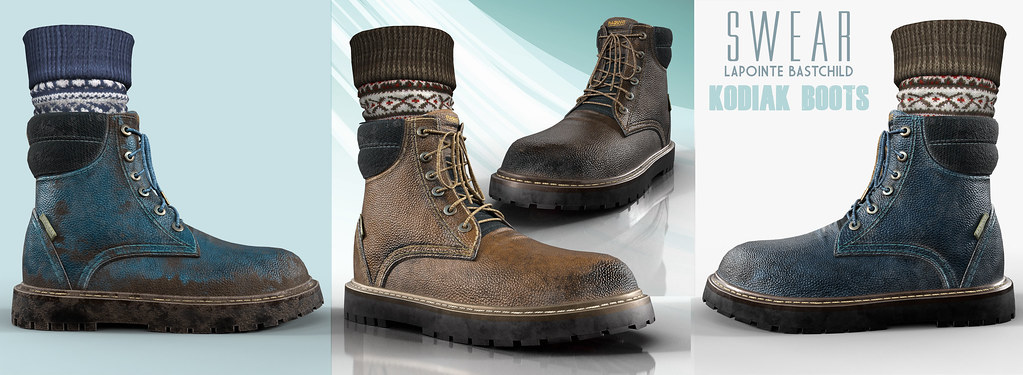 L&B@TMD Sept – Swear Kodiak Boots!