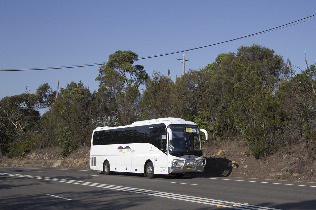 The Oxley Explorer TV6968 BLK President at Berowra.