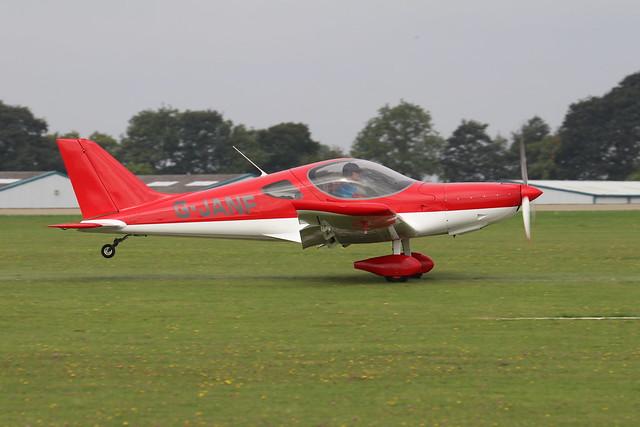 G-JANF  -  Bristell NG5 Speedwing c/n LAA 385-15333  -  EGBK 4/9/21