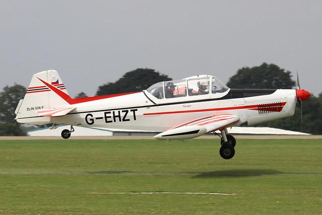 G-EHZT  -  Zlin Trener Master Z-526F c/n 1317  -  EGBK 4/9/21