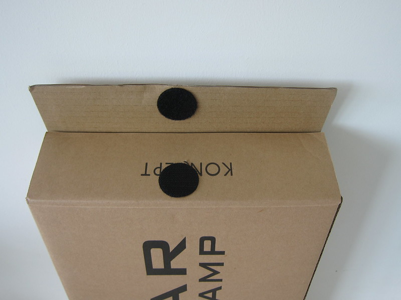 Koncept Z-Bar LED Desk Lamp - Box Side