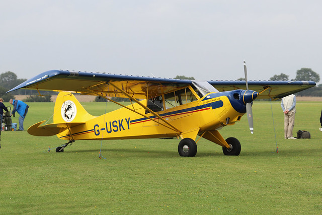 G-USKY  -  Aviat A-1B c/n 2261  -  EGBK 4/9/21