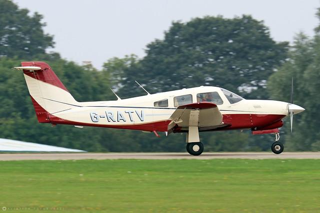 G-RATV  -  PA-28R T-201T Turbo Arrow IV c/n 28R-8431005  -  EGBK 4/9/21