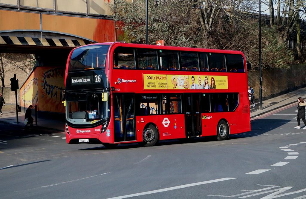 Stagecoach London - 11068 - YX68UTL