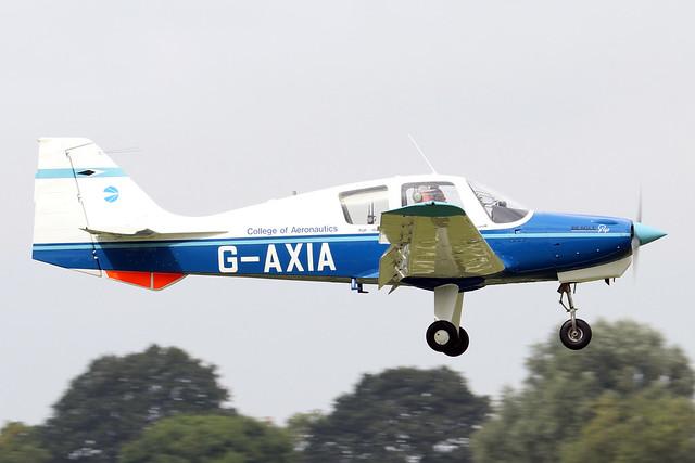 G-AXIA  -  Beagle B.121 Pup 100 c/n B.121-078  -  EGBK 4/9/21