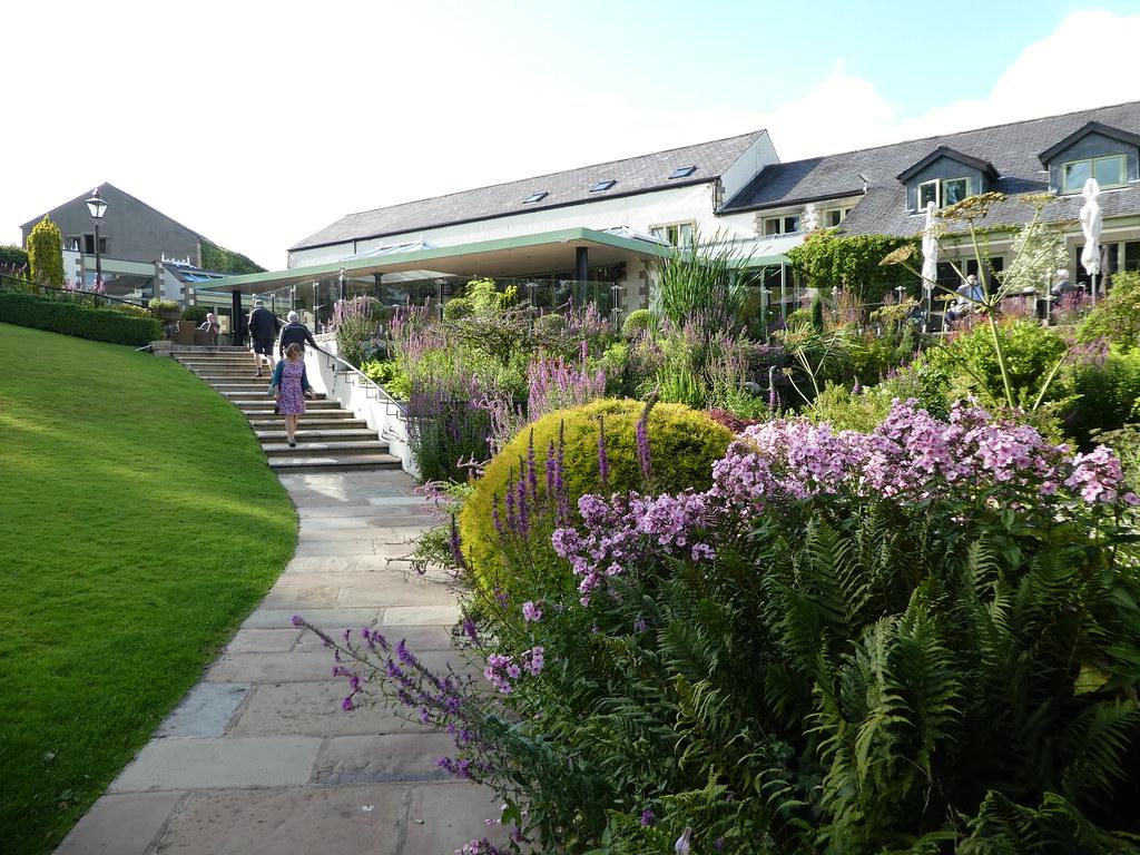 Gardens at the Gibbon Bridge Hotel, Chipping