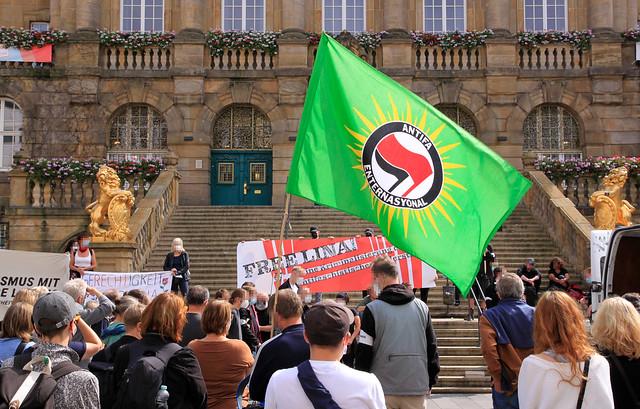 Freiheit für Lina Demonstration am 04.09.2021