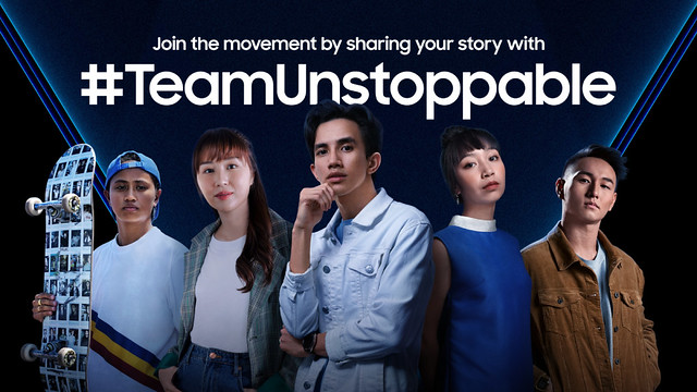 #Teamunstoppable Campaign