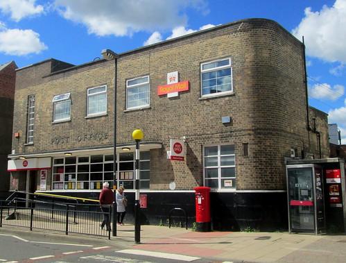 Rounded Corner, Art Deco Post Office, Chester-le-Street