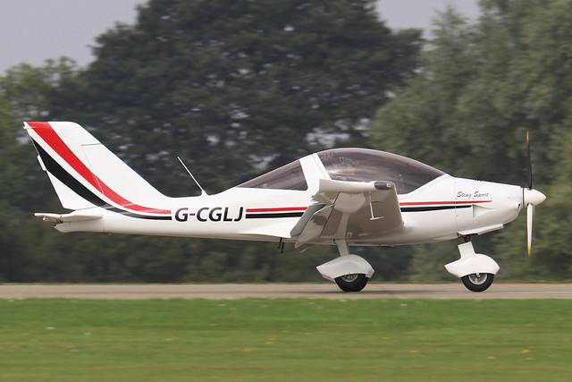 G-CGLJ  -  TL-2000 Sting Carbon UK c/n LAA 347-14794  -  EGBK 4/9/21