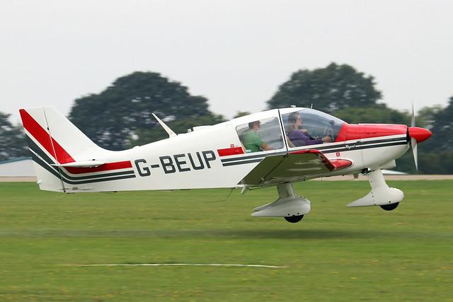 G-BEUP  -  Robin DR.400 180 Regent c/n 1228  -  EGBK 4/9/21