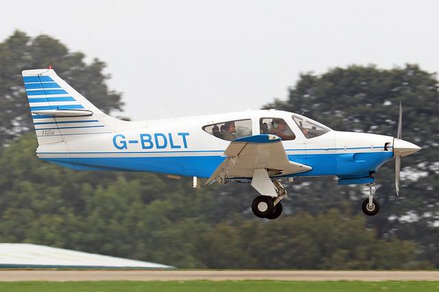G-BDLT  -  Rockwell R112A Commander c/n 363  -  EGBK 4/9/21