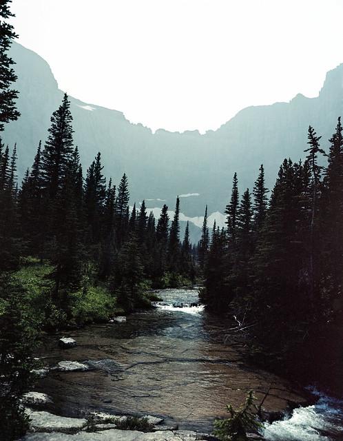 Glaicer Lake River