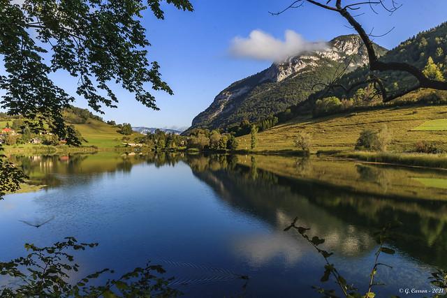 Le soleil arrive à la Thuile... (On Explore * Savoie 09/2021)