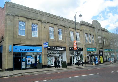 Art Deco Shop Building, Chester-le-Street, County Durham