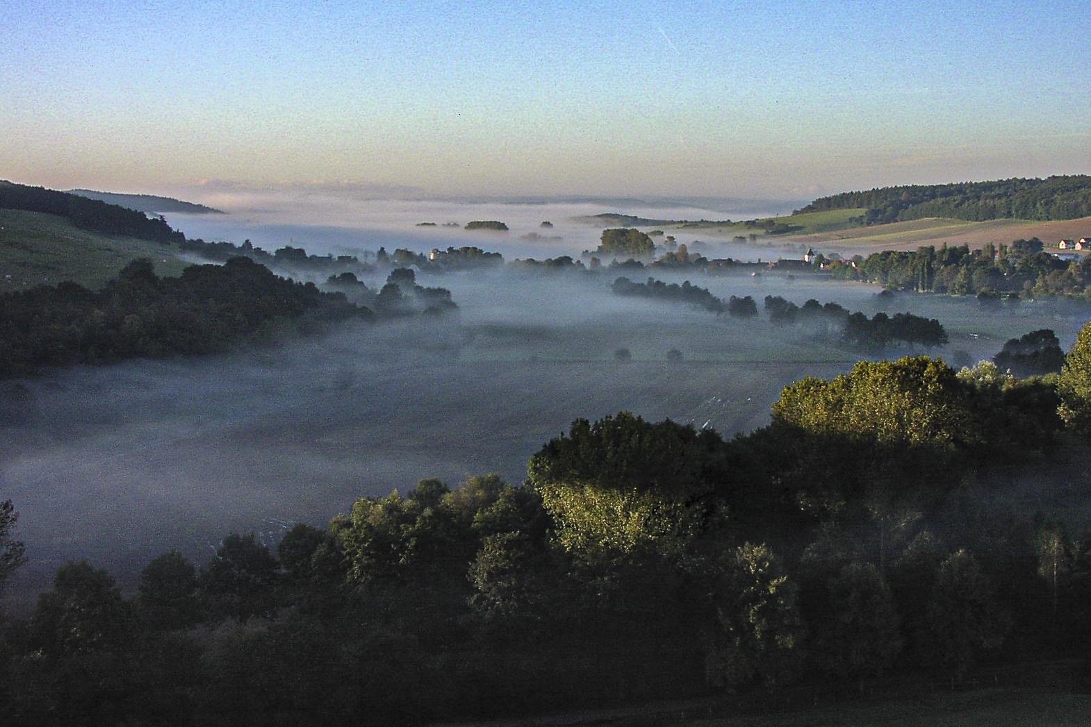 Welda versunken im Nebel