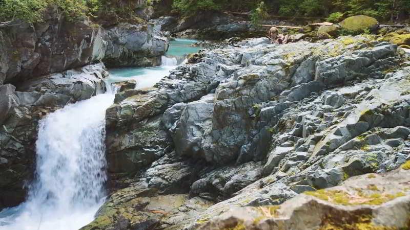 Squamish Canyon in Mamquam River