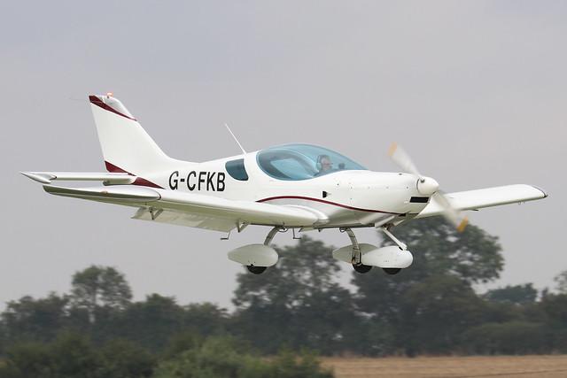 G-CFKB   -  CZAW Sportcruiser c/n 08SC130  -  EGBK 4/9/21