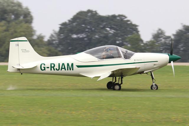 G-RJAM  -  Sequoia F.8L Falco c/n PFA 100-11665  -  EGBK 4/9/21